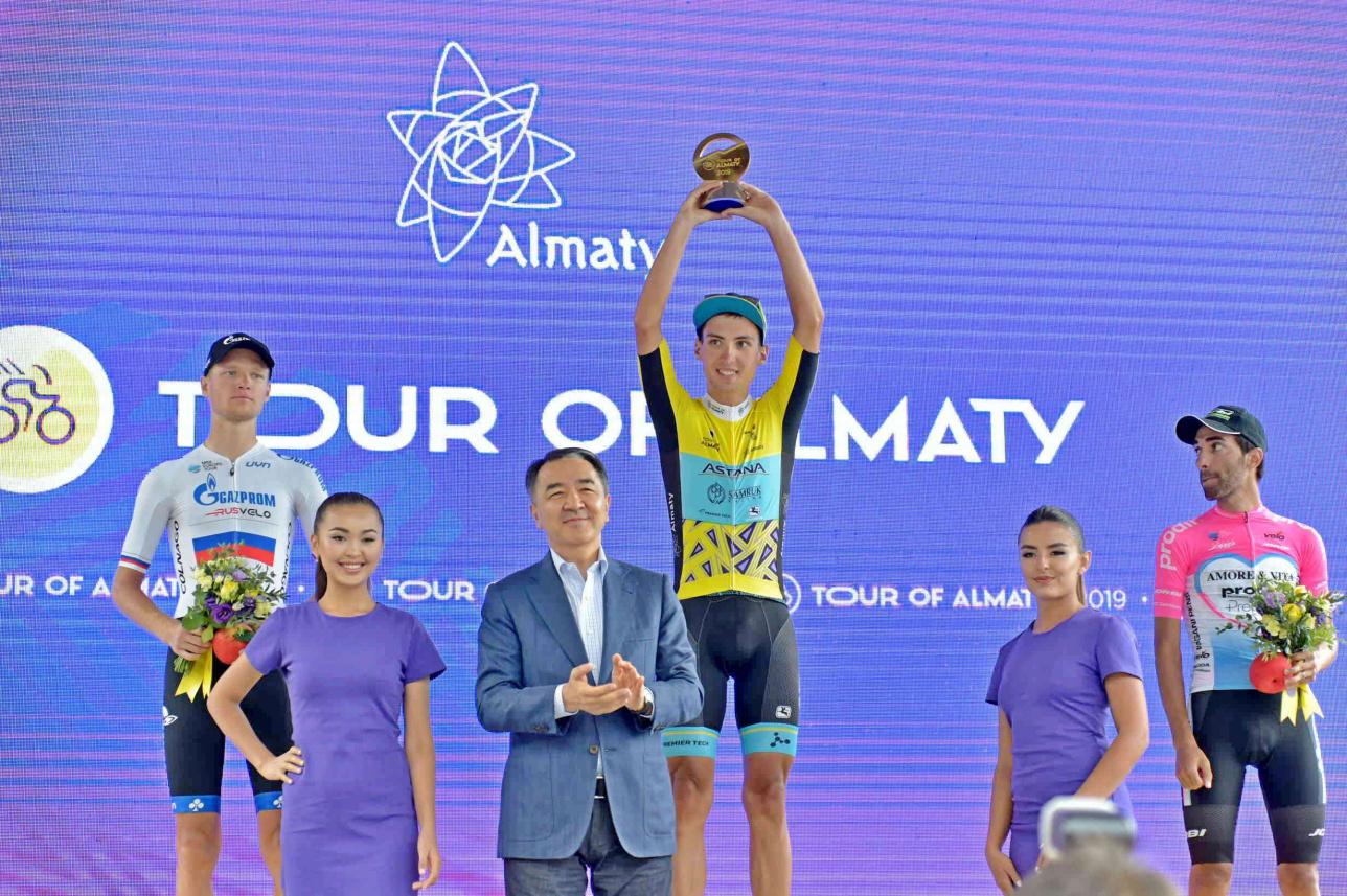Итоги международной велогонки Tour of Almaty
