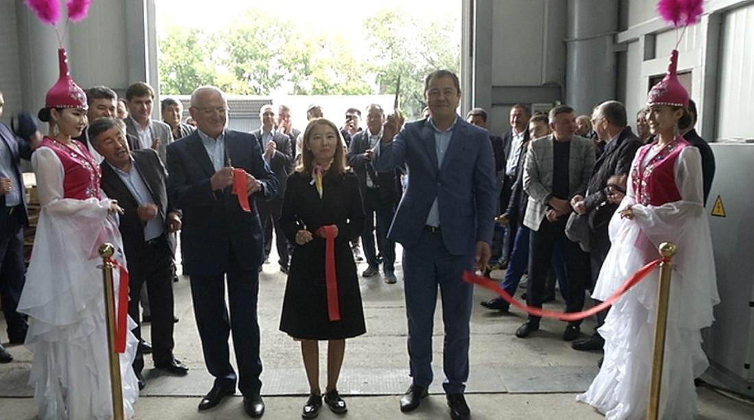 В Алматы открыли высокотехнологичное предприятие