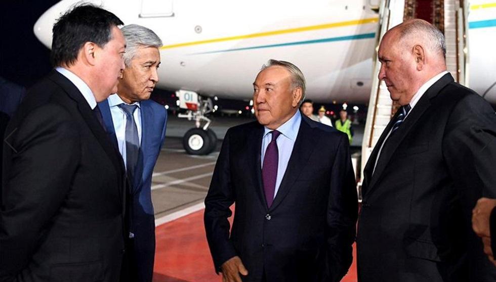 Нурсултан Назарбаев прибыл в Россию
