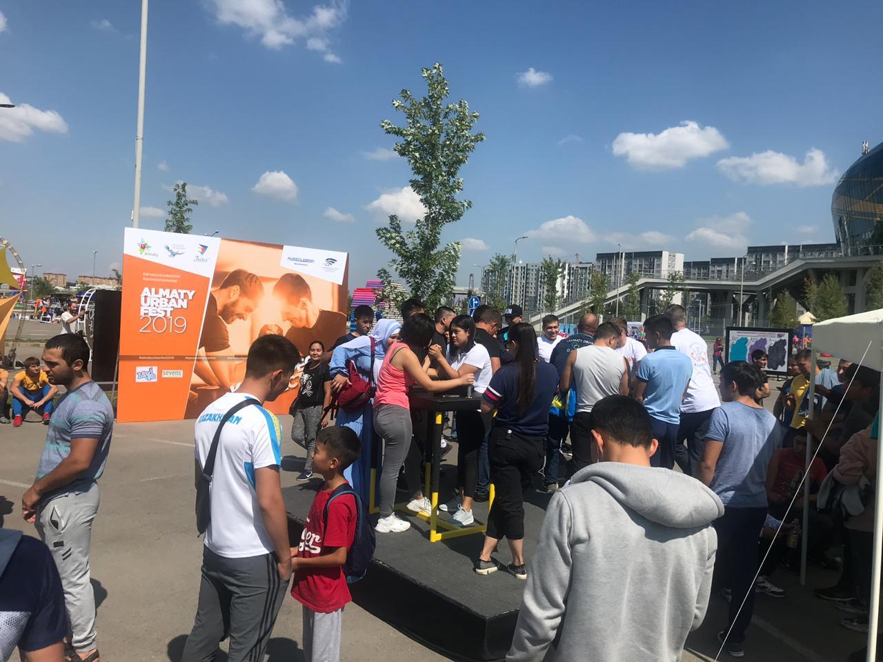 «Almaty Urban Fest» фестивалін тамашалуға 10 мыңнан астам тұрғын жиналды