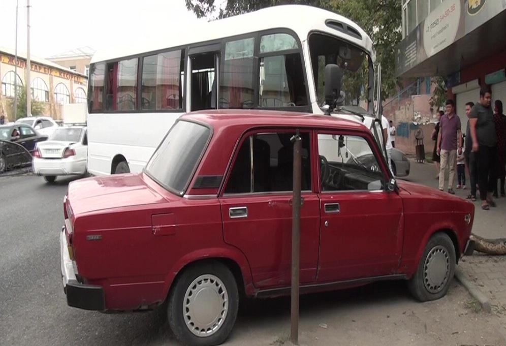 ДТП с автобусом в Шымкенте: есть пострадавшие