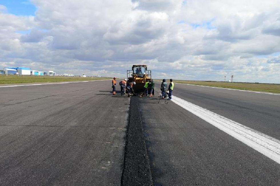 Взлетно-посадочную полосу аэропорта столицы Казахстана закроют на ремонт