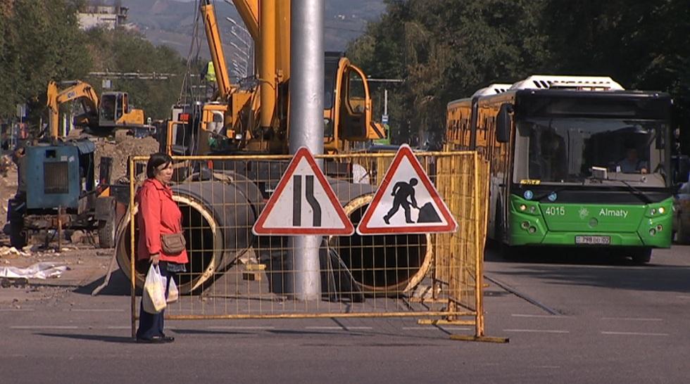 ДТП из-за ремонтных работ: алматинцы жалуются на отсутствие предупреждающих знаков