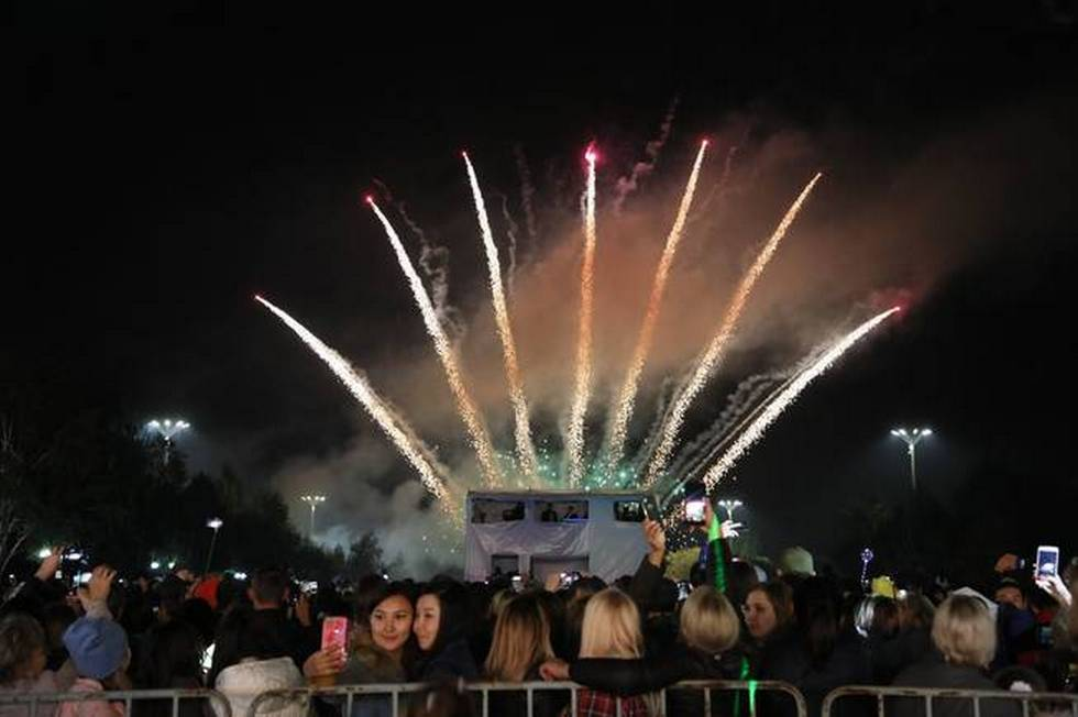 День города отметили в Усть-Каменогорске