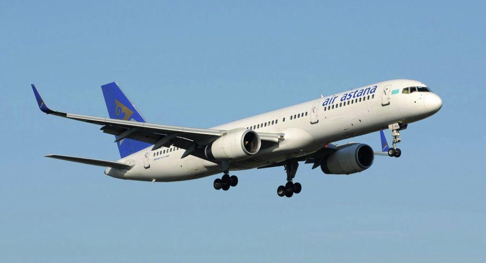 Сбой в работе двигателя: самолет авиакомпании Air Astana будут проверять