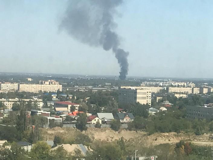 Тело женщины обнаружили при пожаре в Алматы