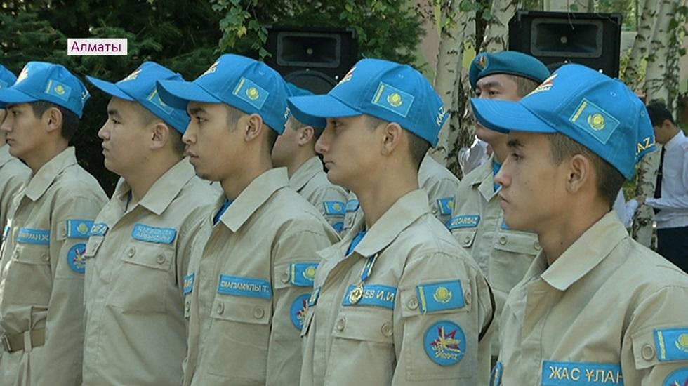 Алматыда «Жігер» республикалық әскери-патриоттық лагері ашылды