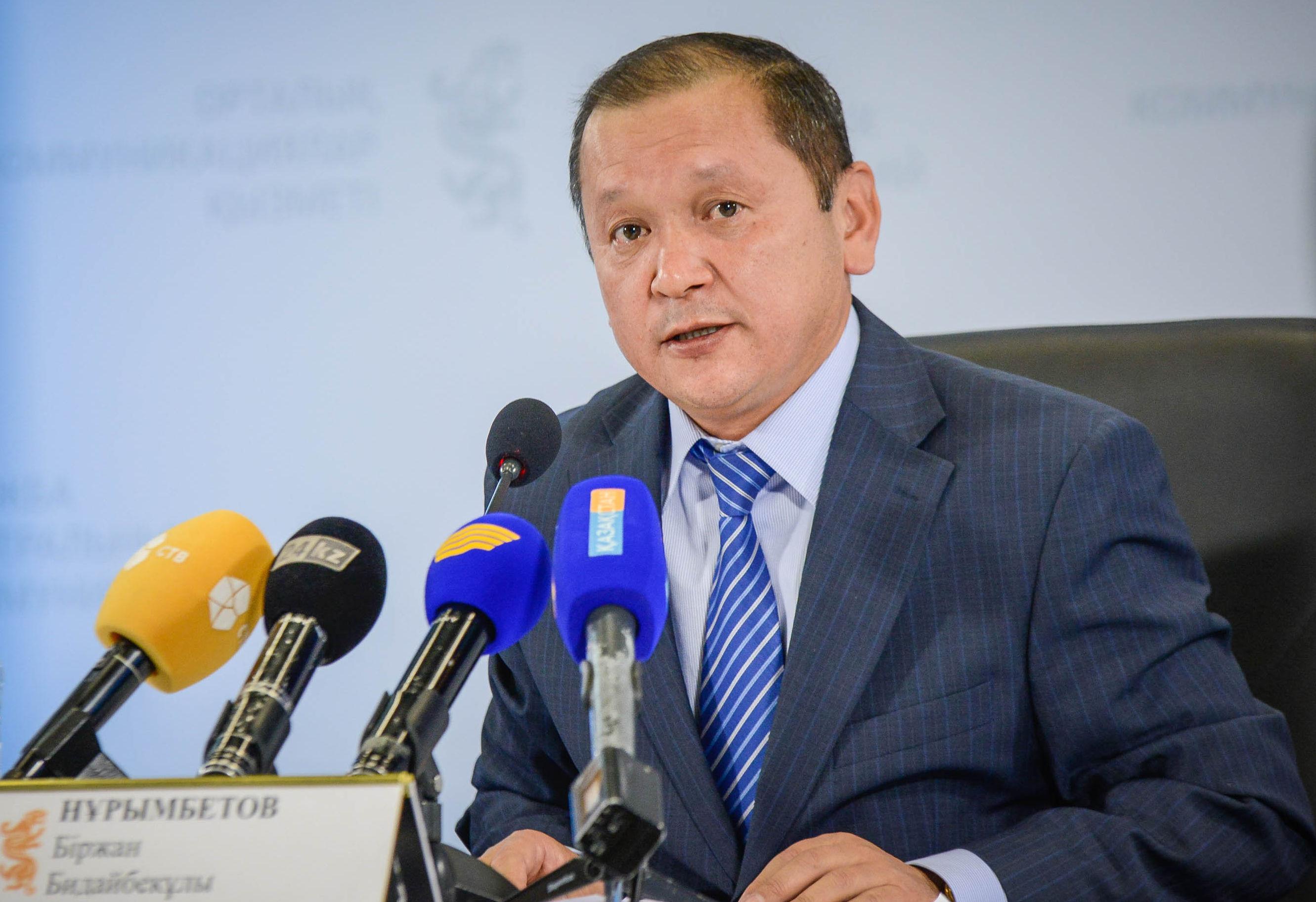 Министр труда и соцзащиты Биржан Нурымбетов прибыл в Алматы