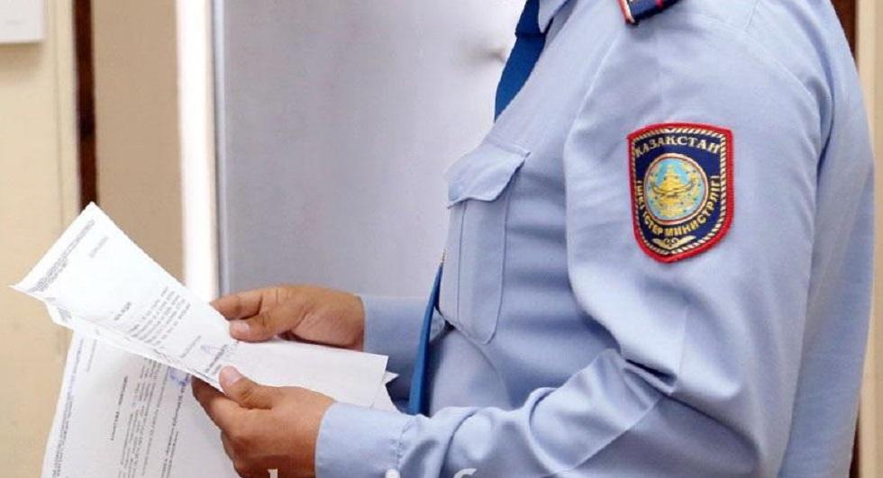 Два полковника полиции подозреваются в хищениях в Акмолинской области