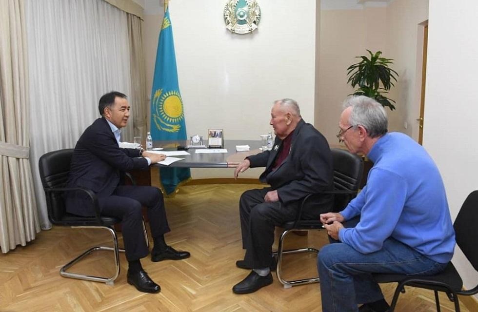Бакытжан Сагинтаев рассказал, кто приходит к нему на личный прием