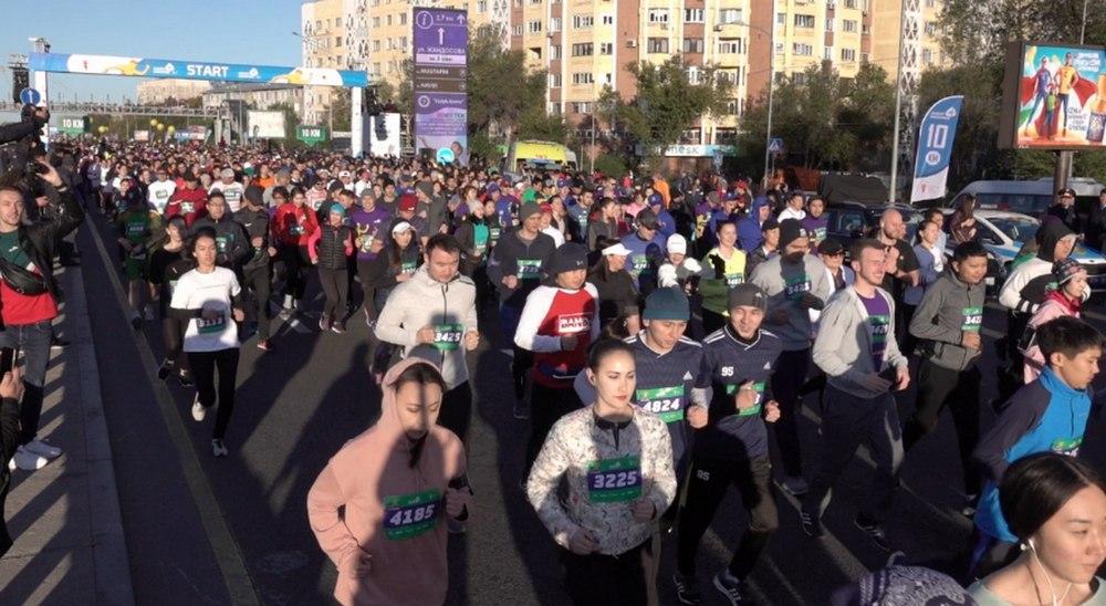 Второй Алматинский полумарафон собрал спортсменов из 26 стран