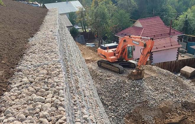 Проблема жителей оползнеопасного склона горы Кок-Тобе решена