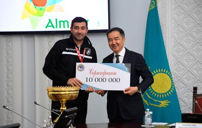 Волейбольный клуб «Буревестник Алматы» выиграл Кубок Казахстана