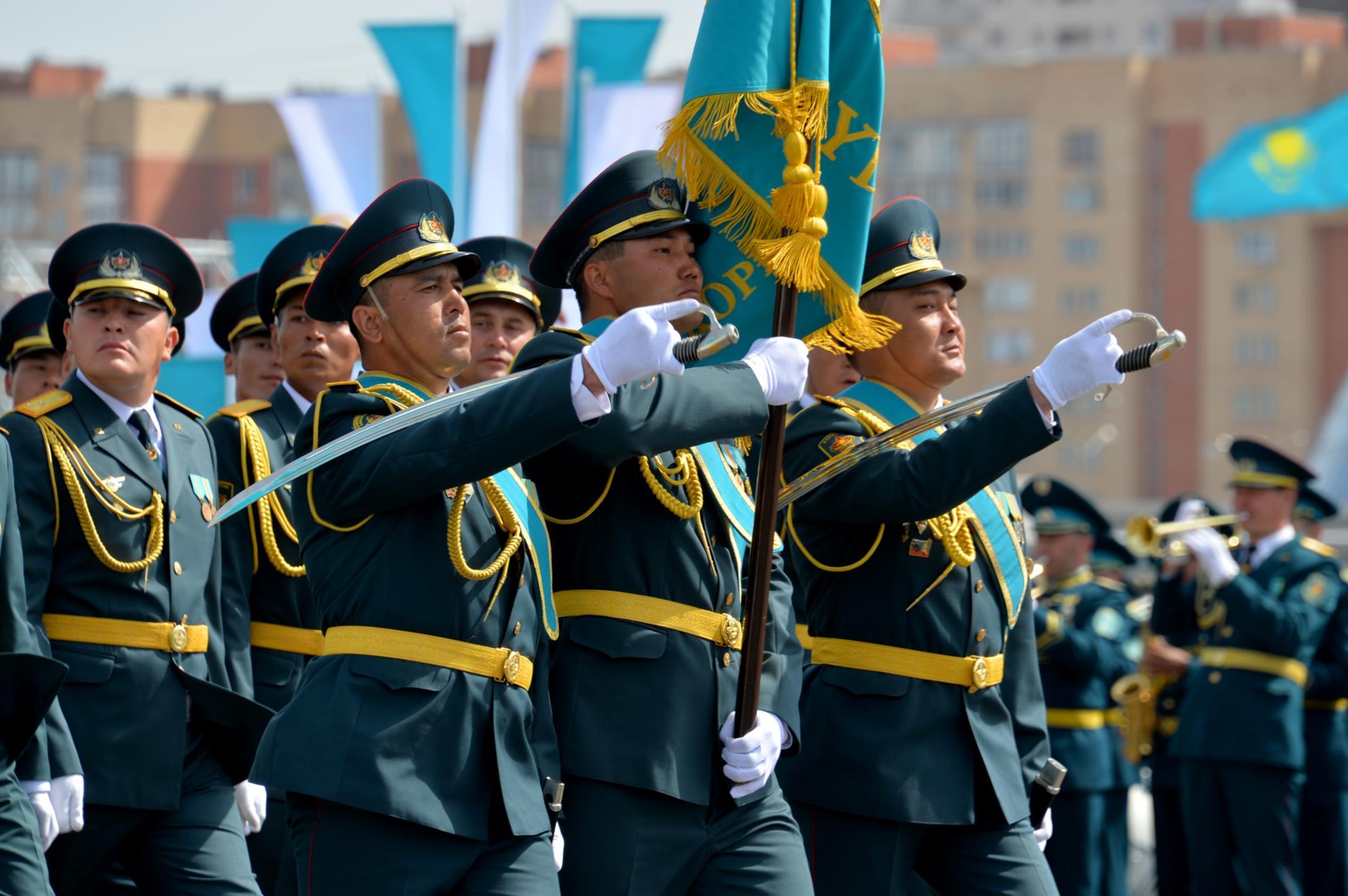 Казахстанские военнослужащие отправились на Всемирные армейские игры в Китае