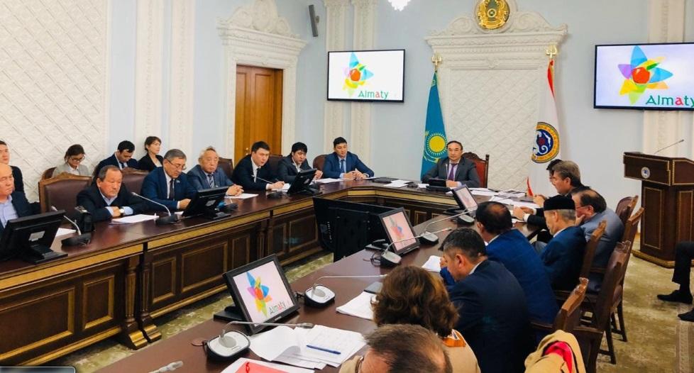 Празднование исторических дат обсудили в акимате Алматы