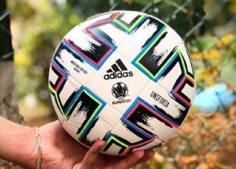 Фото официального мяча Евро-2020 появилось в соцсети