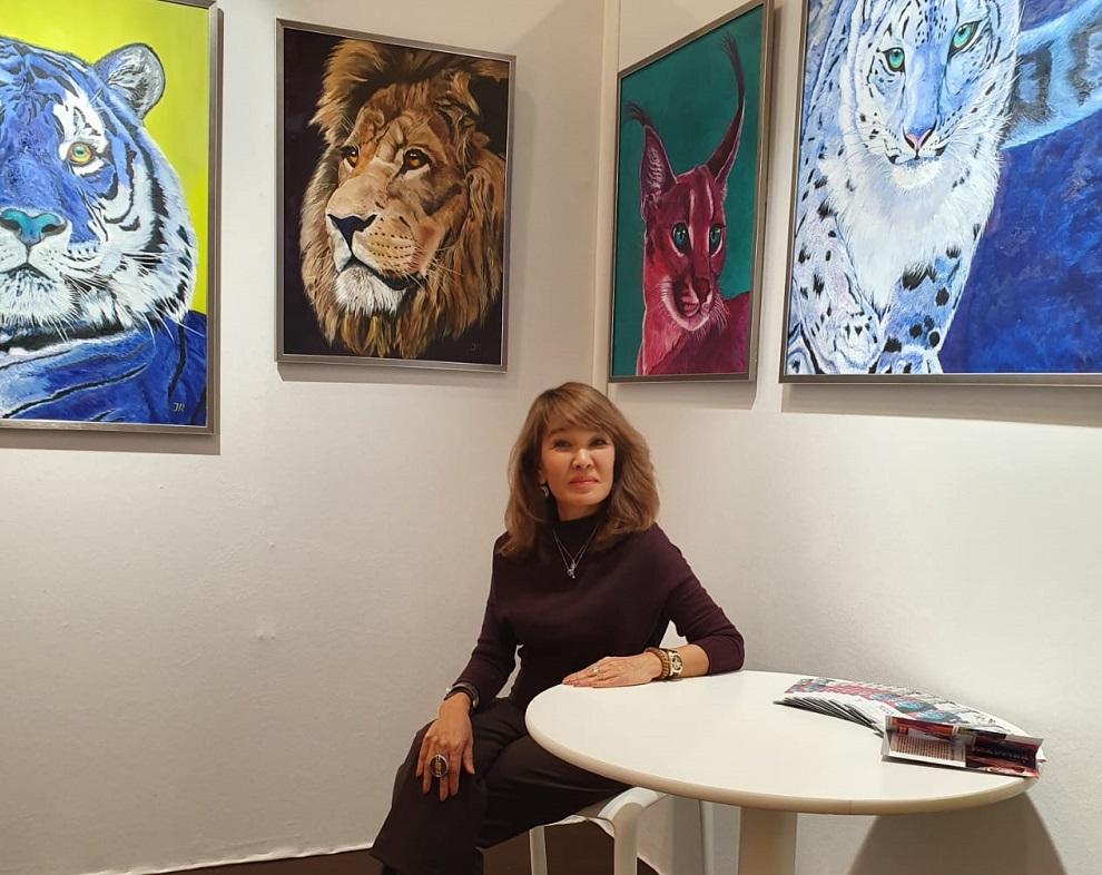 Казахстанская художница покорила Париж