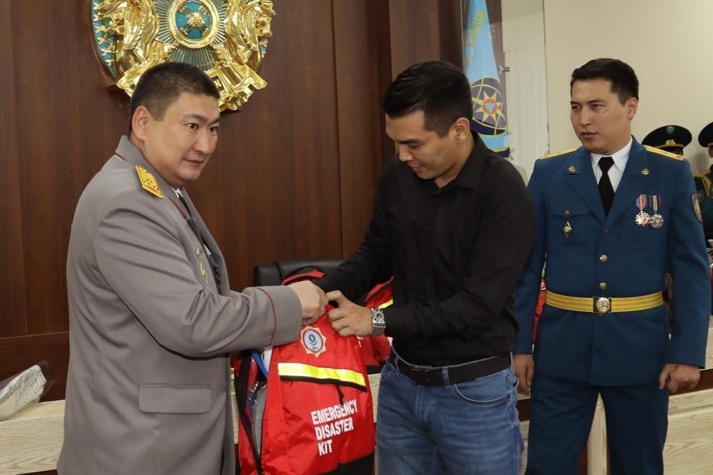 """Журналист телеканала """"Алматы"""" победил в конкурсе"""