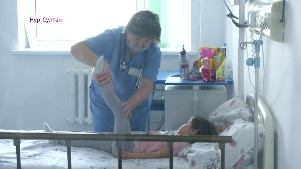 «Хрустальным» детям помогут врачи Нур-Султана
