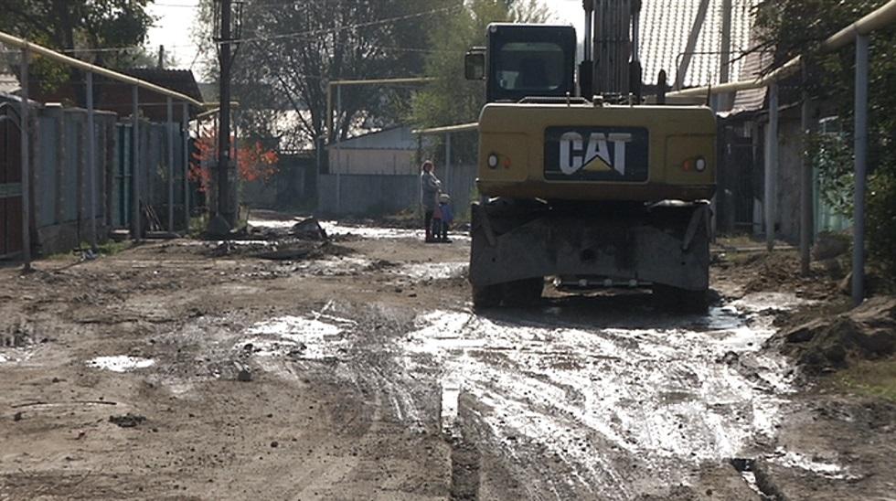 Жители одной из улиц Алатауского района остались без воды и отопления