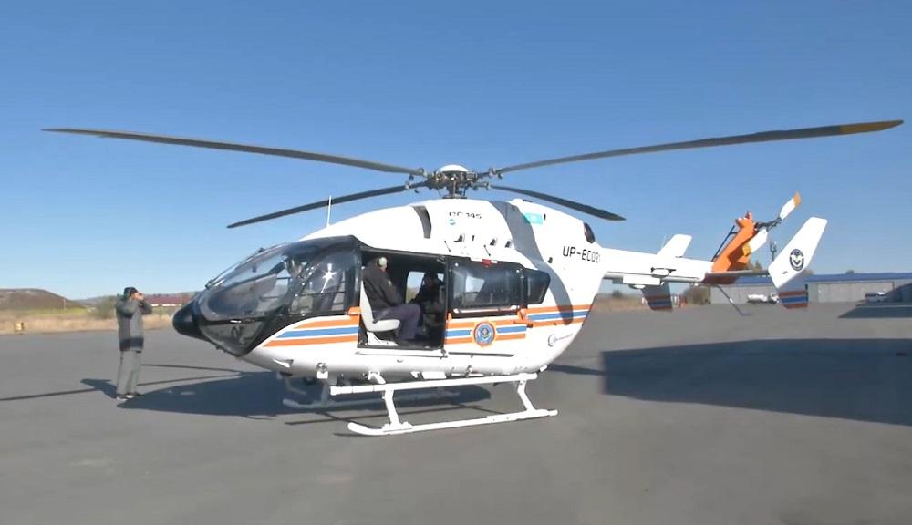 Полицейские ловят браконьеров с помощью вертолета (видео)