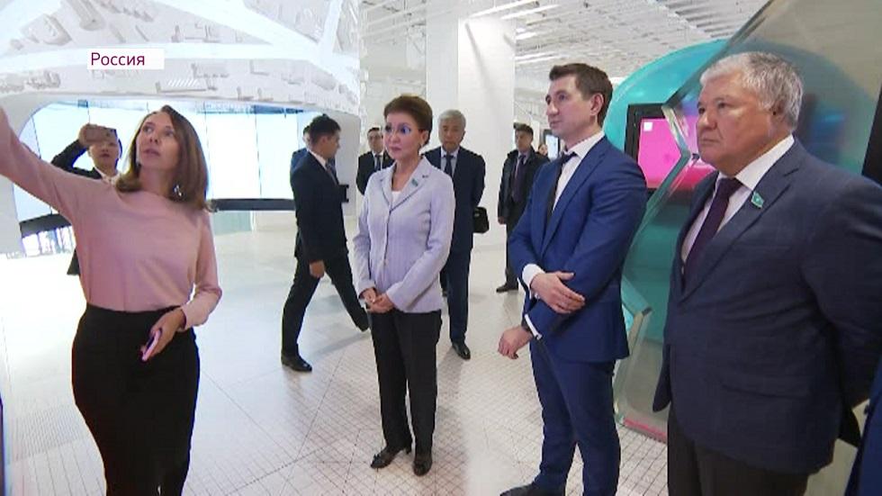 Аналог Open Almaty: Дарига Назарбаева ознакомилась с московским центром новых технологий