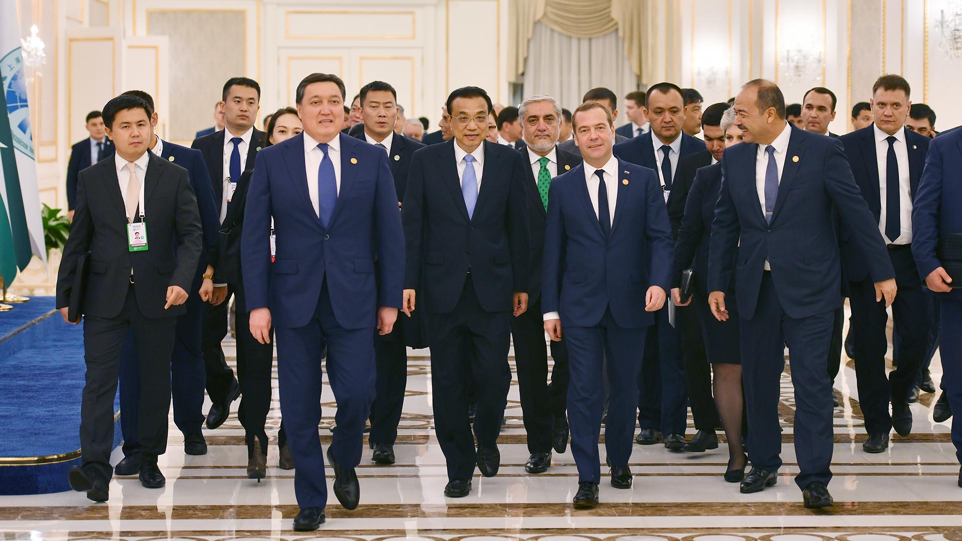 Мамин представил пакет инициатив по развитию экономического сотрудничества в рамках ШОС