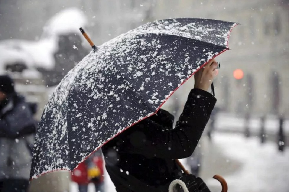 Казгидромет предупредил о снеге в Алматы