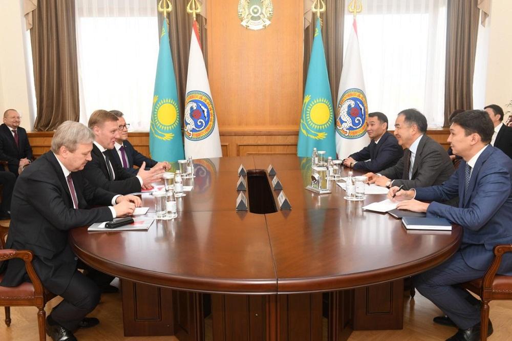 В Алматы прибыли представители деловых кругов Санкт-Петербурга