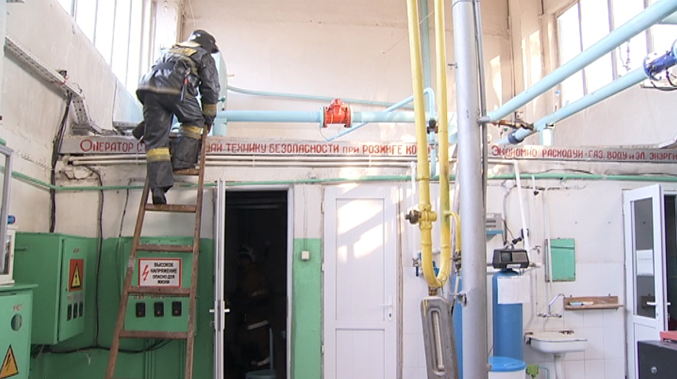 ДЧС Алматы отработал действия при возможном взрыве и пожаре на котельных