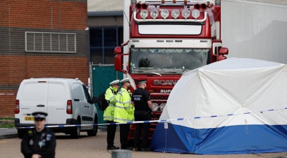 39 трупов в грузовике: установлены личности погибших
