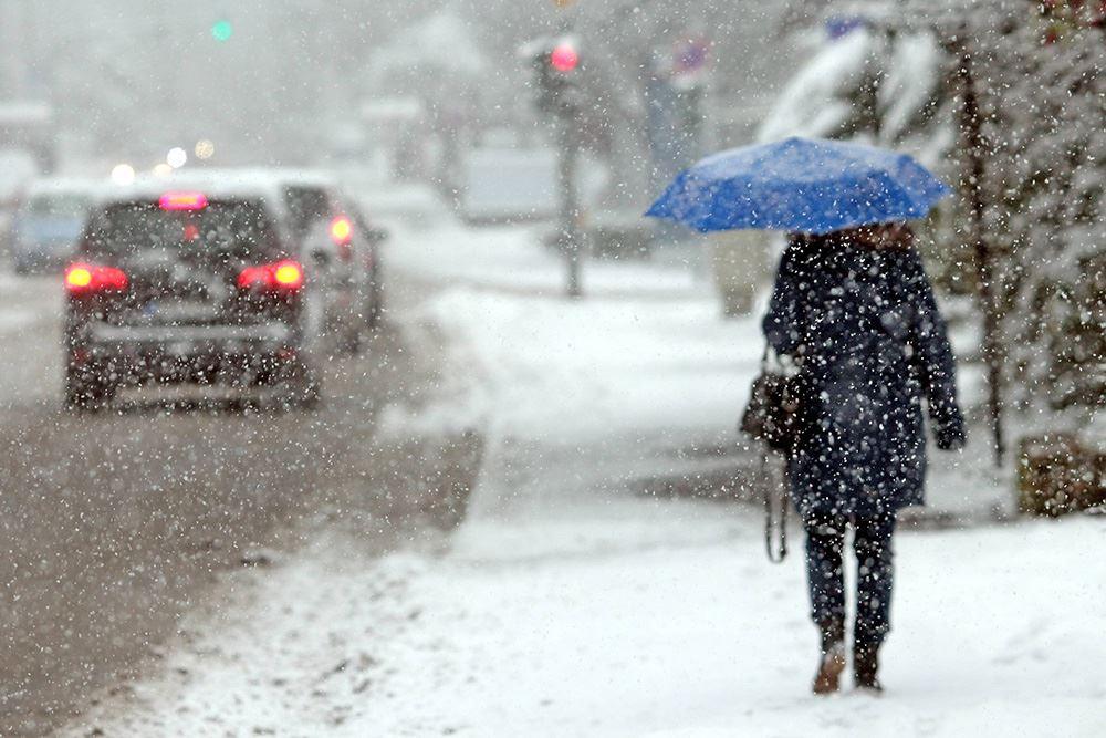 Дождь, снег и гололед: погода в Казахстане 15 ноября