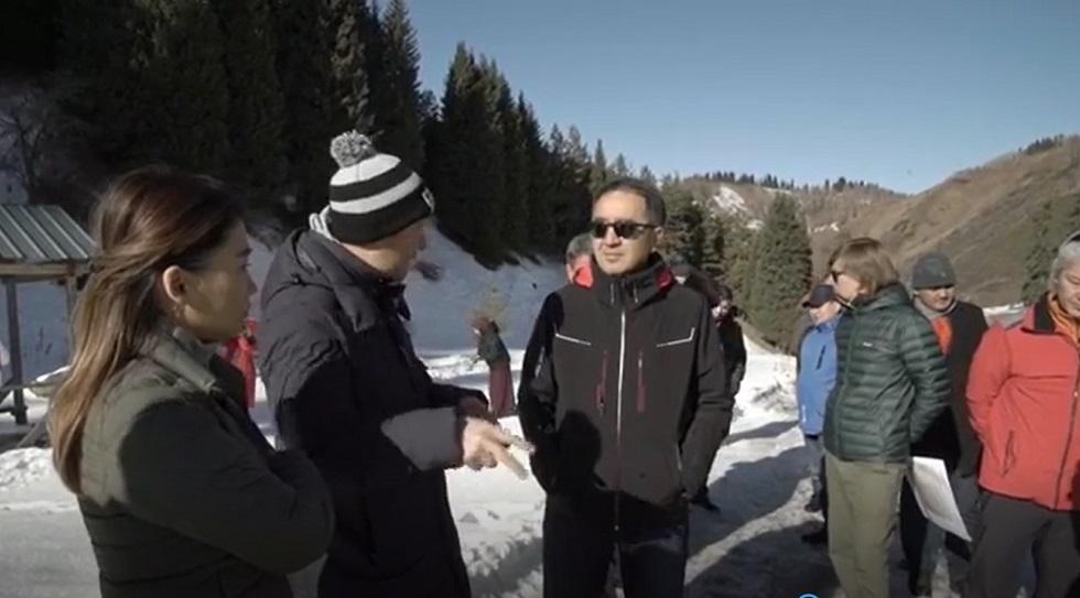 Необходимо создать условия для комфортного и доступного отдыха в горах - аким Алматы
