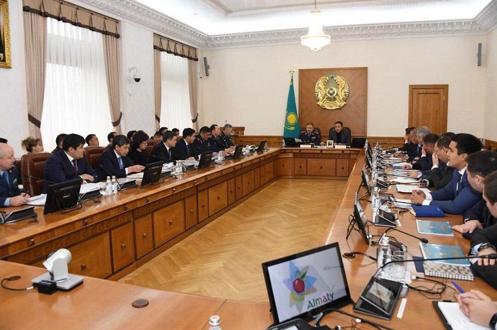 Б. Сағынтаев: қалалықтардың қауіпсіздігі үшін ештеңені үнемдеуге болмайды