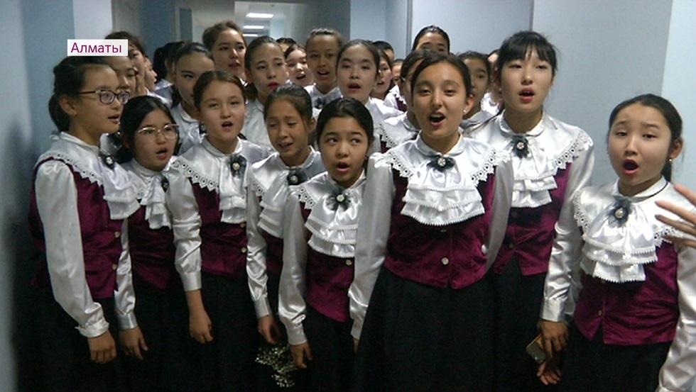 Музыкальная школа имени А. Жубанова в Алматы отмечает свой 55-летний юбилей