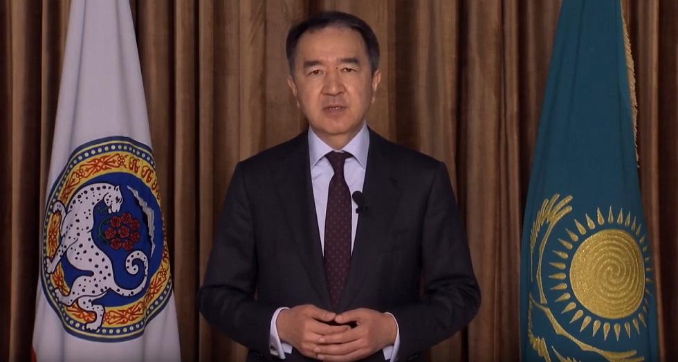 Бакытжан Сагинтаев выступил с обращением к жителям Алматы