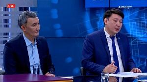 AKIMAT LIVE тікелей эфирінде «Алматы-2050» даму стратегиясы талқыланды