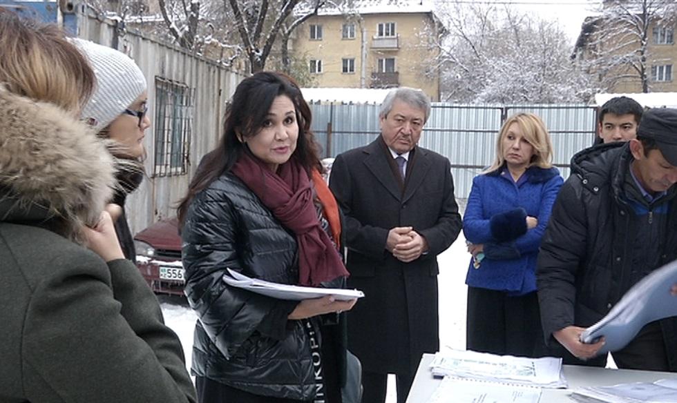Алматинцы выразили обеспокоенность по поводу застройки бывшего трамвайного депо