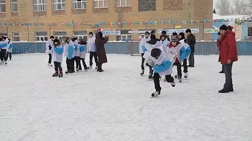 Ледовые катки появятся около всех школ Павлодара