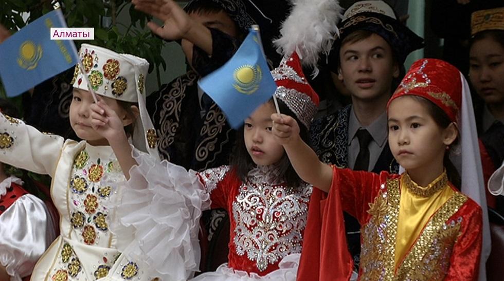 День Первого Президента отметили в 117-й школе Алматы