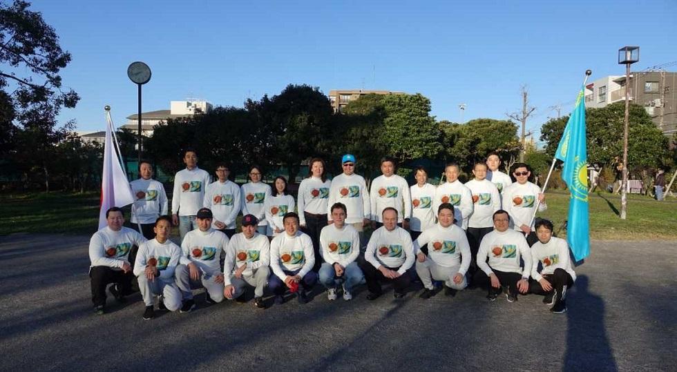 В Японии посвятили 28-километровый марш Дню Независимости Казахстана