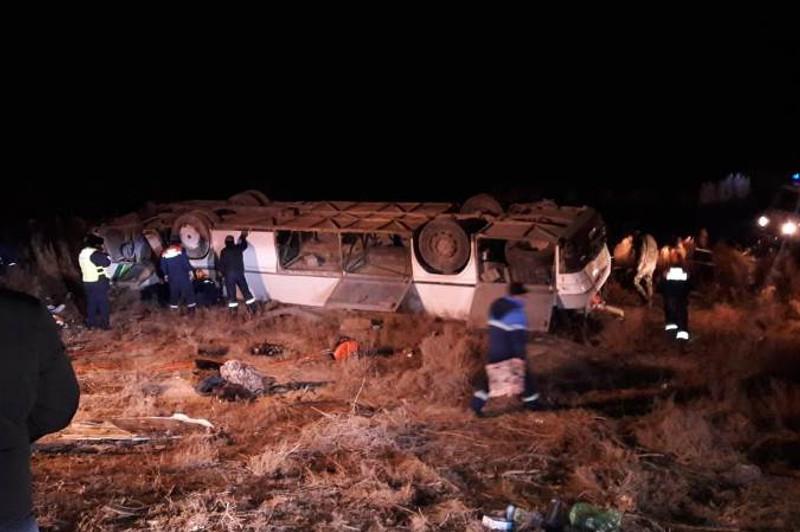 Смертельное ДТП с автобусом близ Кызылорды: количество погибших увеличилось