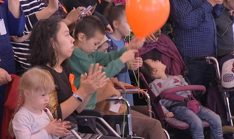 Международный День инвалидов прошел в Алматы