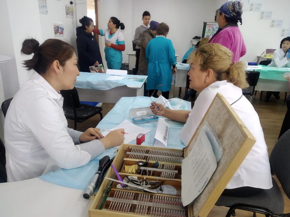 Более 10 тысяч жителей отдаленных районов прошли медосмотр в месячник здоровья