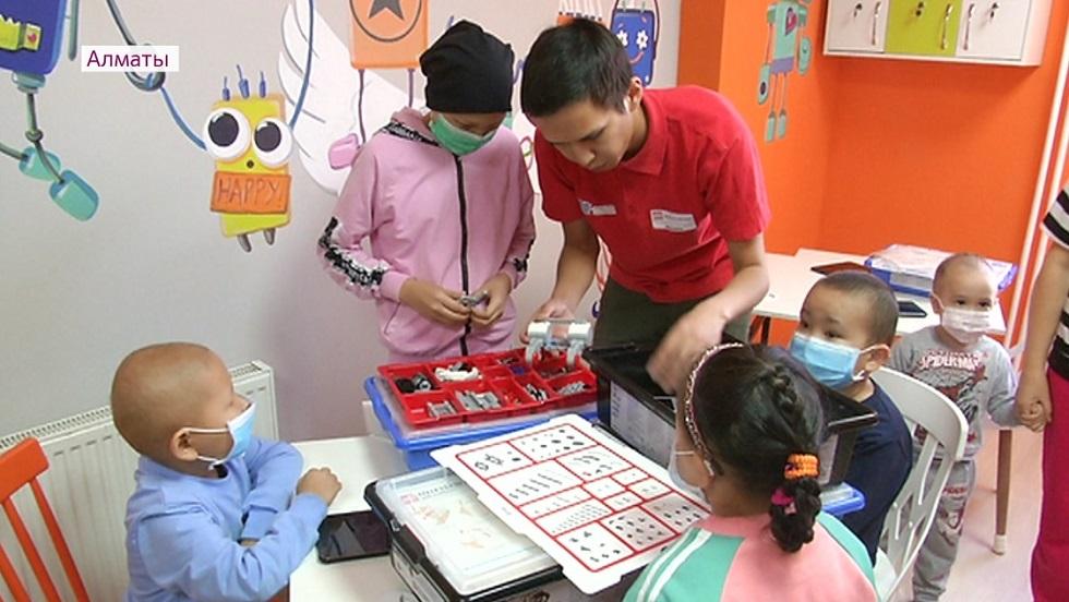 Смарт-класс для детей открылся в Научном центре педиатрии и детской хирургии Алматы