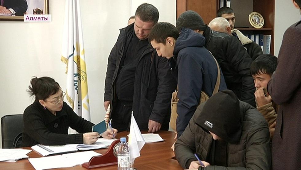 Ярмарка вакансий прошла для бывших заключенных в Алматы