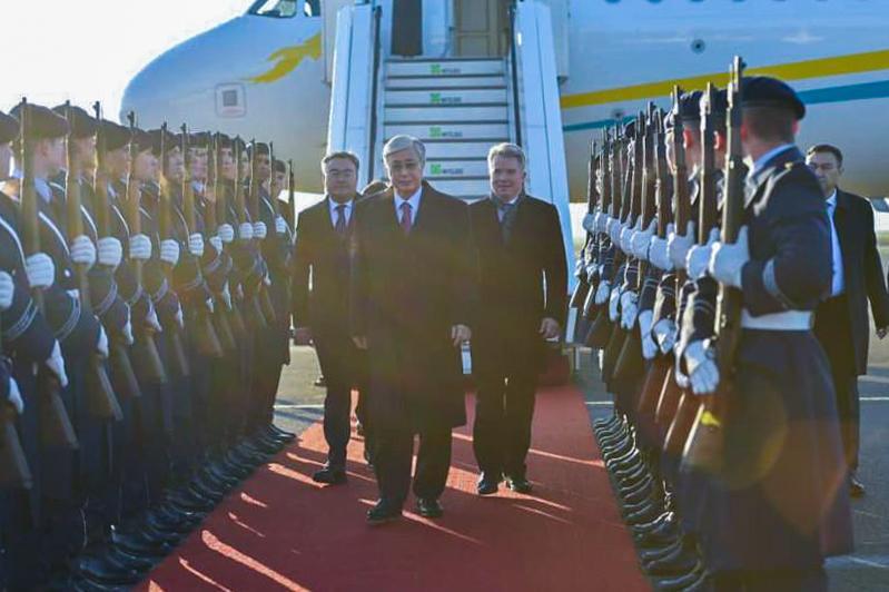Касым-Жомарт Токаев прибыл с официальным визитом в Берлин