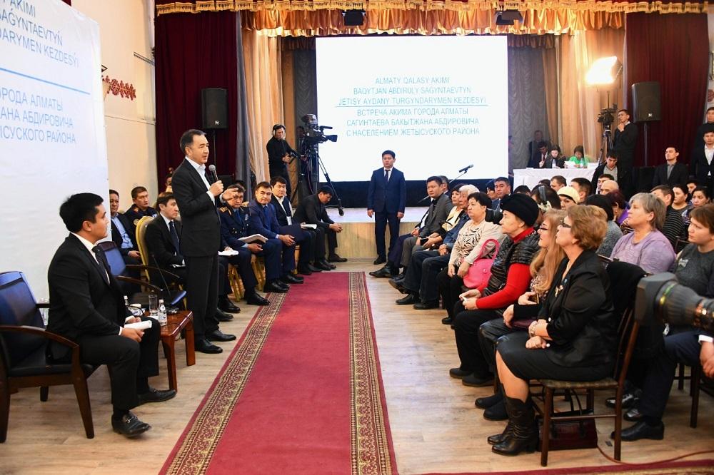 Так работает «слышащее» государство -  Бакытжан Сагинтаев решает проблемы районов