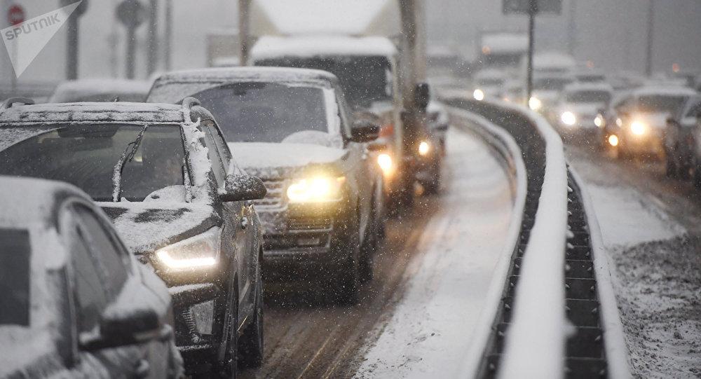 Крупное ДТП с участием шести автомобилей произошло в Алматинской области (видео)