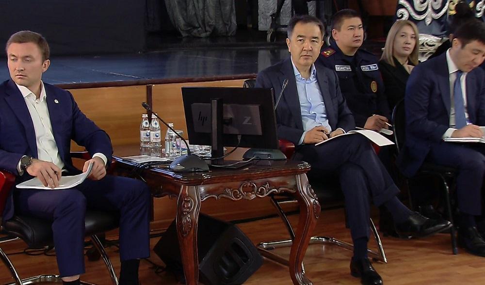 Бакытжан Сагинтаев провел встречу с жителями Турксибского района
